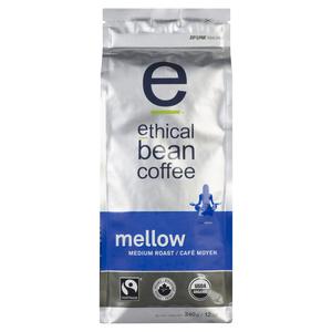 Ethical Bean Organic Mellow Medium Roast Whole Bean Coffee 340 g