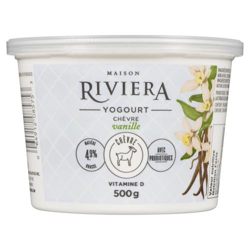 Riviera Goat Yogurt Vanilla 500 g