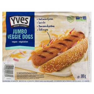 Yves Veggie Cuisine Jumbo Veggie Dogs 380 g