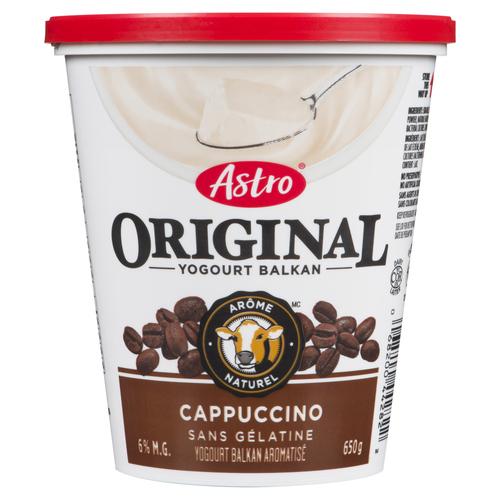 Astro Original Cappuccino Yogurt 650 g