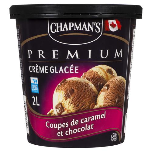 Chapman's Premium Ice Cream Chocolate Caramel Cup 2 L