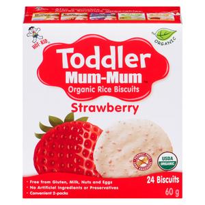 Hot-Kid Toddler Mum Mum Strawberry Banana 6 x 60 g