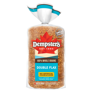 Dempster's 100% Whole Grains Double Flax Bread 600 g