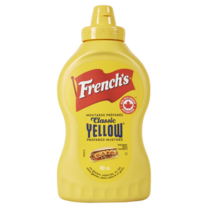French's Squeezable Yellow Mustard 400 ml