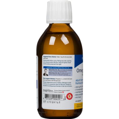 Progressive OmegEssential +D Fish Oil Orange 200 ml