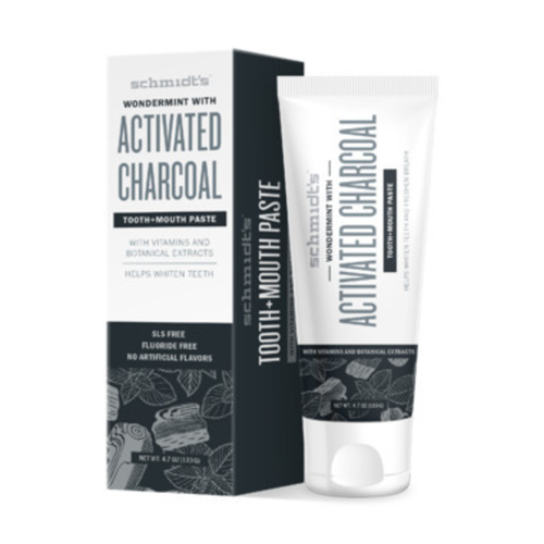 Schmidt's Naturals Wondermint with Activated Charcoal 133 g