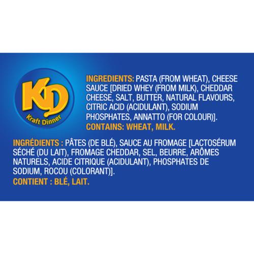 Kraft Dinner Macaroni & Cheese Alphabet Shapes 156 g