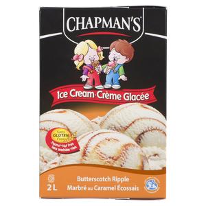 Chapman's Ice Cream Butterscotch Ripple 2 L