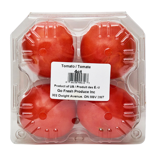 Hot House Tomatoes 4 Count