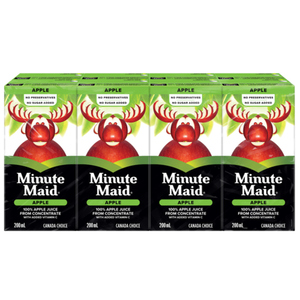 Minute Maid 100% Apple Juice From Concentrate 8 x 200 ml