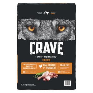 Crave Chicken Dry Dog Food 9.98 kg
