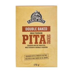 Farm Boy Double Baked Pita Crackers Multigrain 170 g