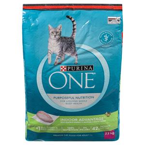 Purina Dry Cat Food Natural Indoor Advantage 7.2 kg