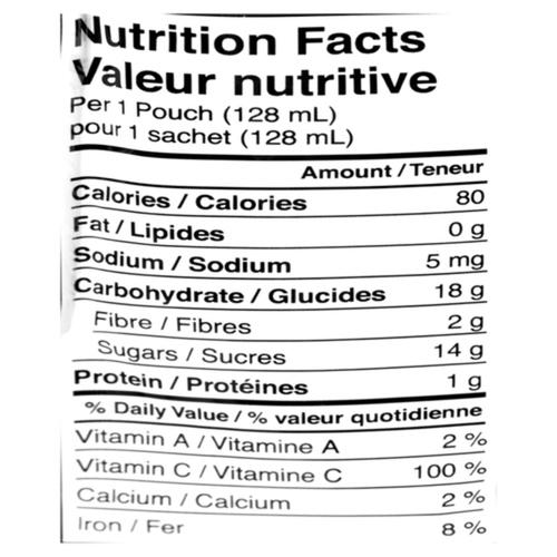 Love Child Organics Baby Food Apple, Banana & Blueberry 128 ml