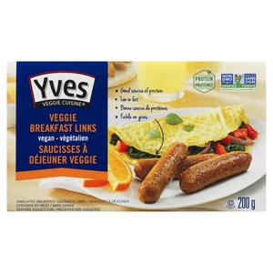 Yves Veggie Cuisine Veggie Breakfast Links 200 g