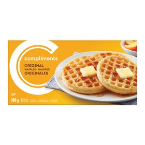 Compliments Original Waffles  8 x 280 g