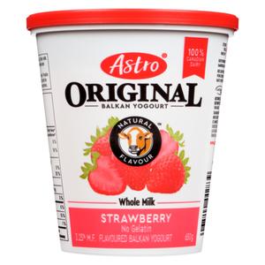 Astro Original 6% Yogurt Strawberry Delight 650 g