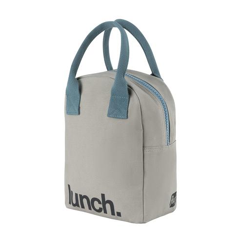 Fluf Zippered Lunch Grey/Midnight 1 EA