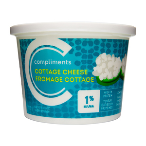 Compliments 1% Cottage Cheese 500 g
