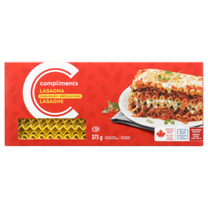 Compliments Lasagna Oven Ready 375 g