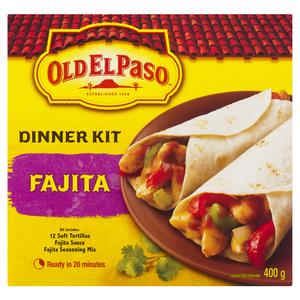 Old El Paso Fajita Dinner Kit 400 g