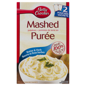 Betty Crocker Mashed Potatoes Butter & Herb 215 g