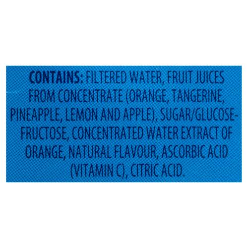Five Alive Tropical Citrus Juice 8 x 200 ml