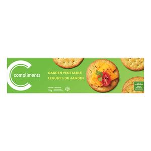 Compliments Crackers Garden Vegetable 225 g