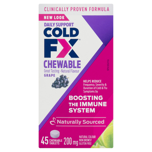 Cold-FX Grape Cold Medicine Chewable 45 Tablets