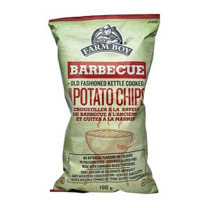 Farm Boy Potato Chips Barbecue 198 g
