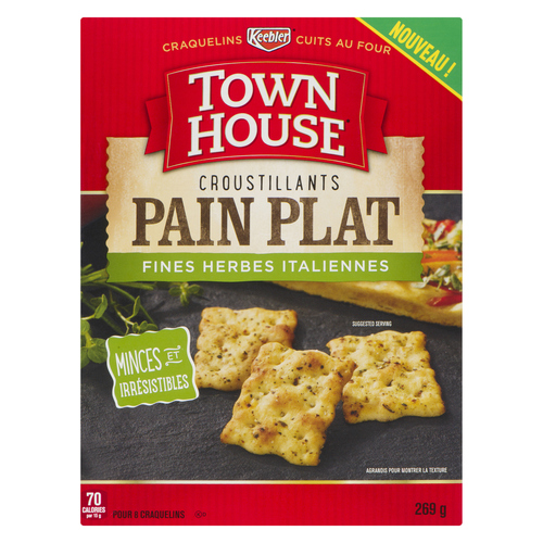 Town House Italian Herb Flatbread Crisps 269 g