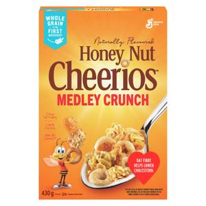 Cheerios Cereal Honey Nut Oat Crunch 430 g