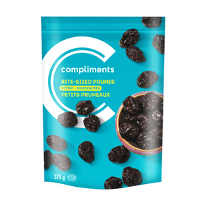 Compliments Pitted Prunes Bite Size 375 g