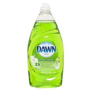 Dawn Ultra Antibacterial Dish Detergent Apple Blossom 828 ml
