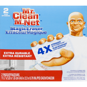 Mr. Clean Magic Eraser Cleaner Extra Power 2 Pack