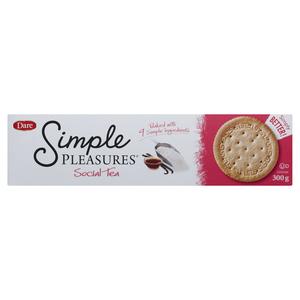 Dare Cookies Simple Pleasures Social Tea 300 g