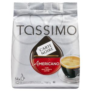 Tassimo Coffee Pods Carte Noire Americano 14 Pack 114 g