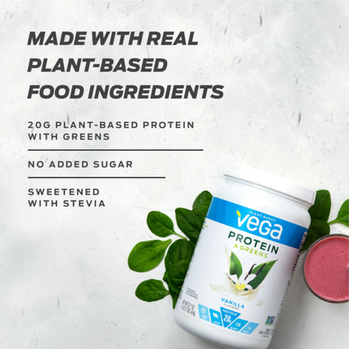 Vega Protein & Greens Salted Caramel 17 Servings 510 g