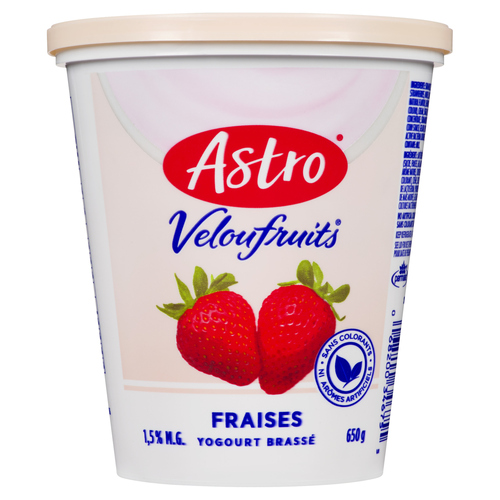 Astro Smooth & Fruity Stirred Yogurt Strawberry 650 g