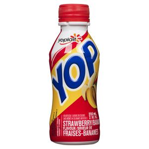 Yoplait Yop Drinkable Yogurt Strawberry 200 ml