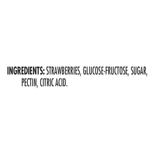 Smucker's Pure Jam Strawberry 500 ml