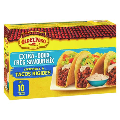 Old El Paso Hard Taco Kit Extra Mild 330 g