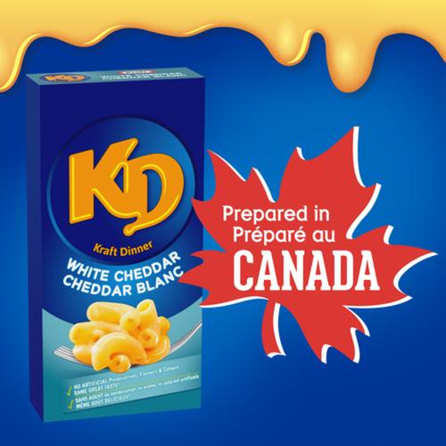 Kraft Dinner Macaroni & Cheese White Cheddar 200 g