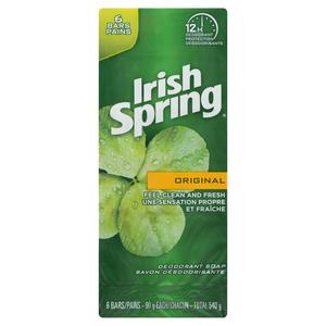 Irish Spring Original Bar Soap 6 Pack 540 g