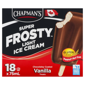 Chapman's Super Frosty Light Ice Cream 18 x 75 ml