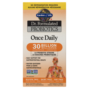 Garden Of Life Doctor Formulated Once Daily Probiotics 30 EA